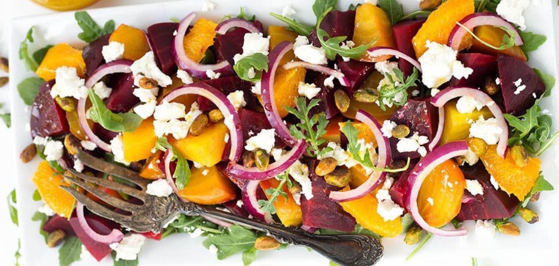 Рецепт казково смачного і корисного салату з буряком
