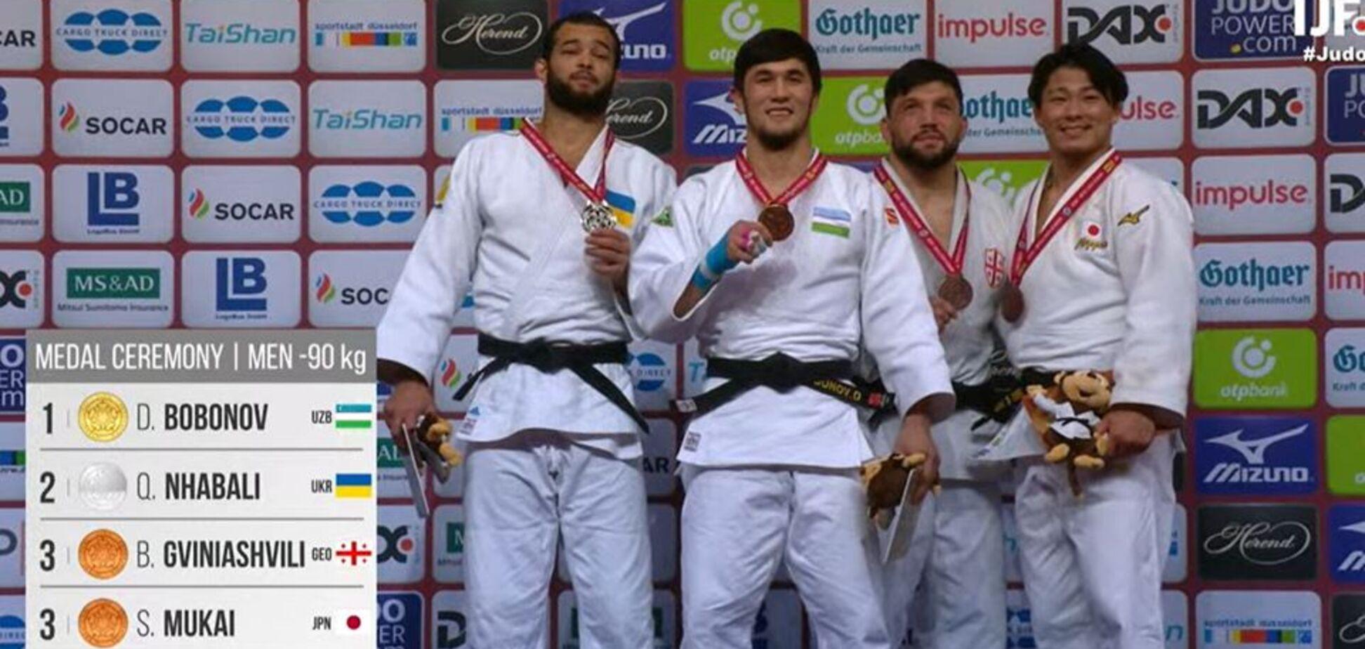 Украинский дзюдоист завоевал 'серебро' Grand Slam