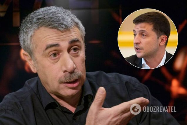 Комаровский обратился к Зеленскому после встречи с жителями Новых Санжар