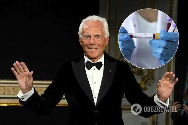 Джорджо Армани отказался от зрителей на модном показе из-за коронавируса