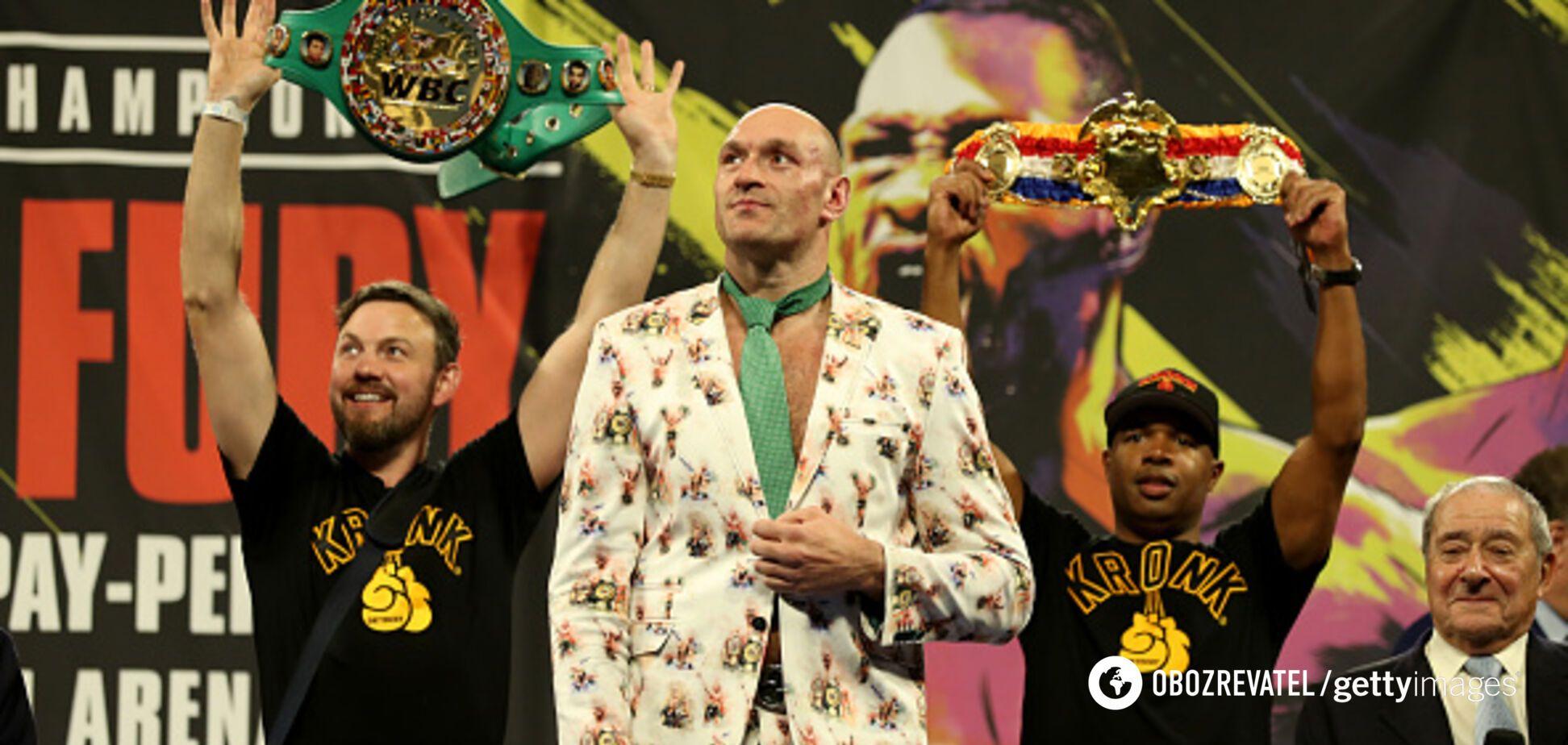 Впервые в истории! Тайсон Фьюри установил рекорд мирового бокса