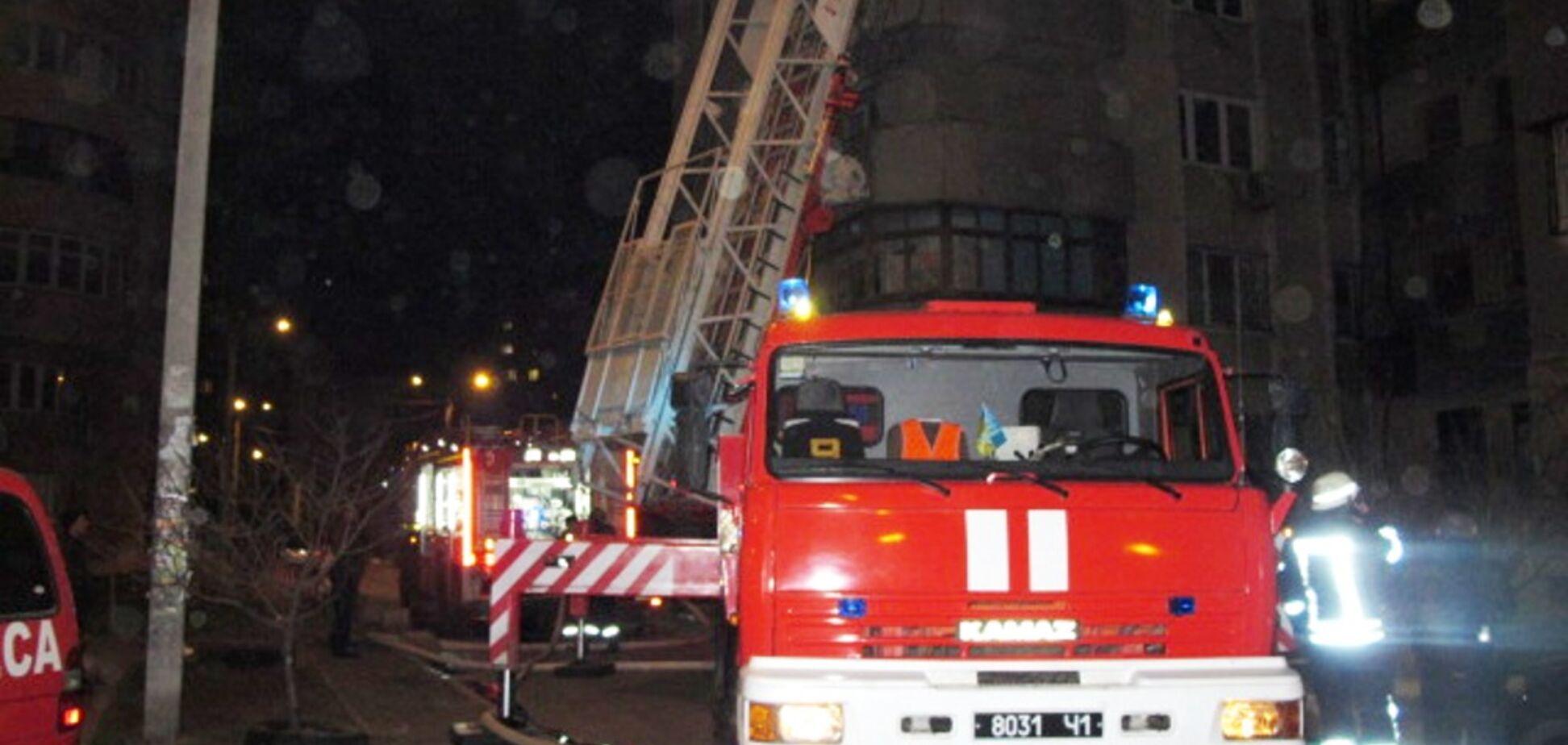 В спальном районе Одессы горела многоэтажка