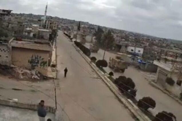 Самолеты РФ в Сирии атаковали военную колонну Турции