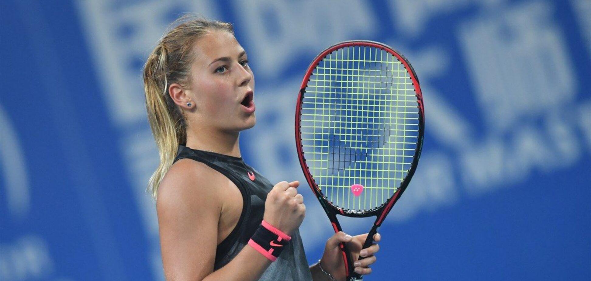 Двойной успех: 17-летняя украинка выиграла престижный турнир по теннису