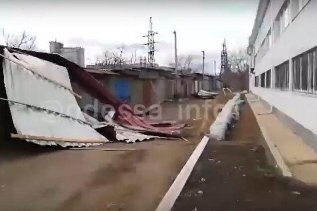 Ураган в Одесі