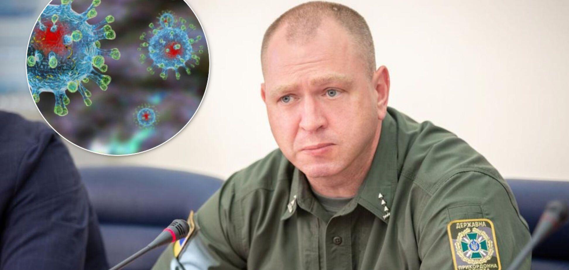 У Держприкордонслужбі виправдалися за слова глави про 'розправу' над тими, хто відмовився від перевірки на коронавірус