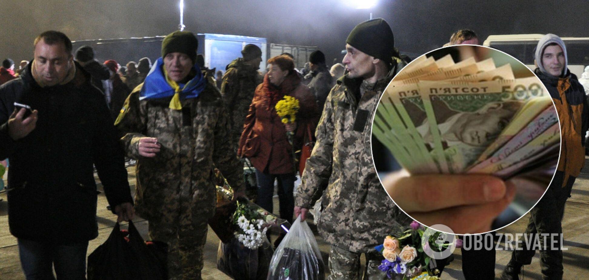 Колишні полонені 'Л / ДНР' залишилися без компенсації