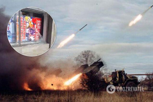 """Терористи влаштували """"салют"""" до """"23 лютого"""" в Луганську"""