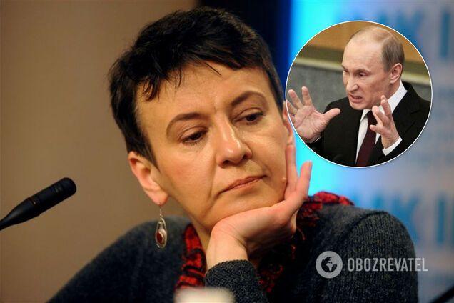 Забужко и Путин