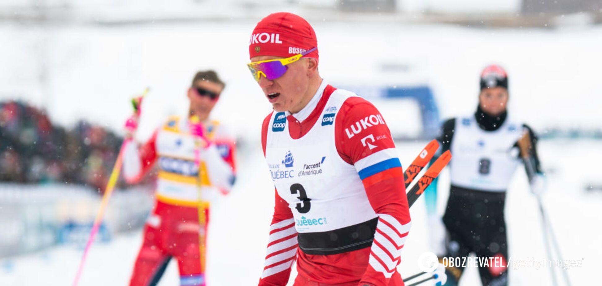 Не та смазка: российский лыжник распсиховался после провала в гонке на Кубке мира