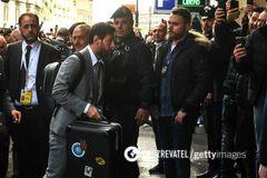 Футболисты 'Барселоны' из-за коронавируса прошли нестандартную процедуру перед матчем ЛЧ