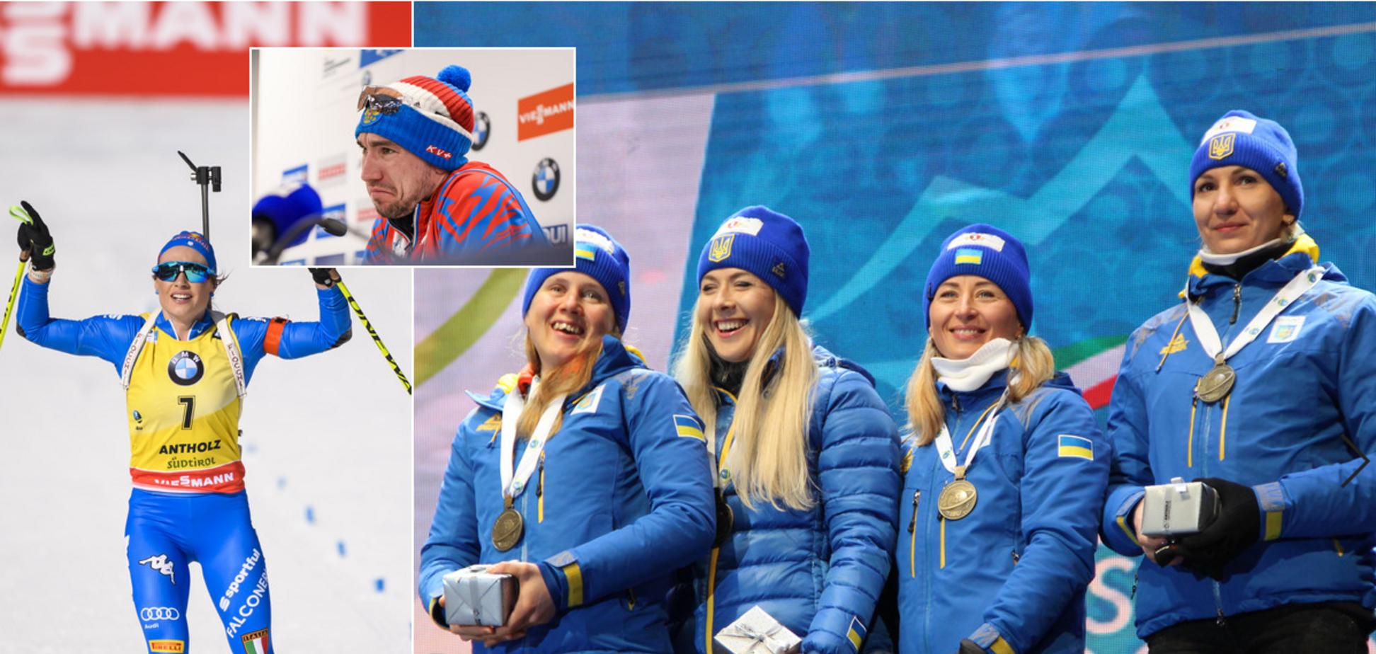 СуперВірер, слід України та цькування Логінова: хіт-парад чемпіонату світу з біатлону