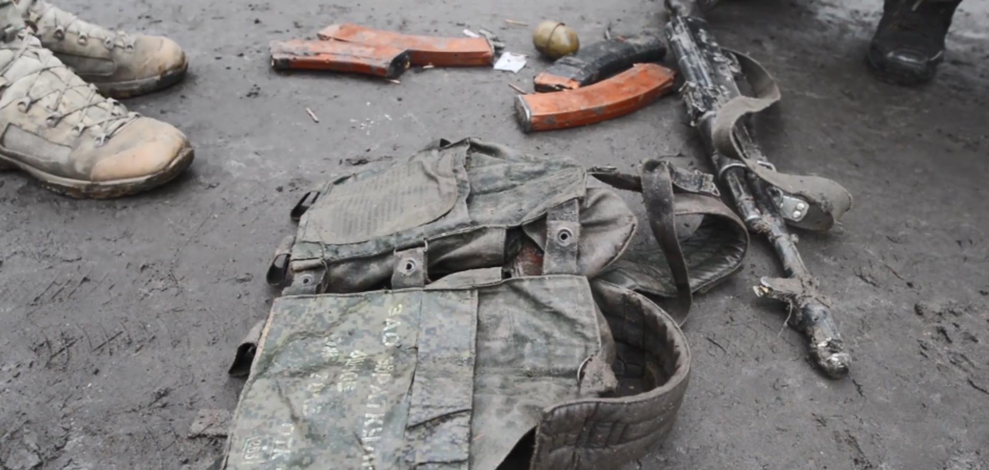 Оружие террориста ДНР