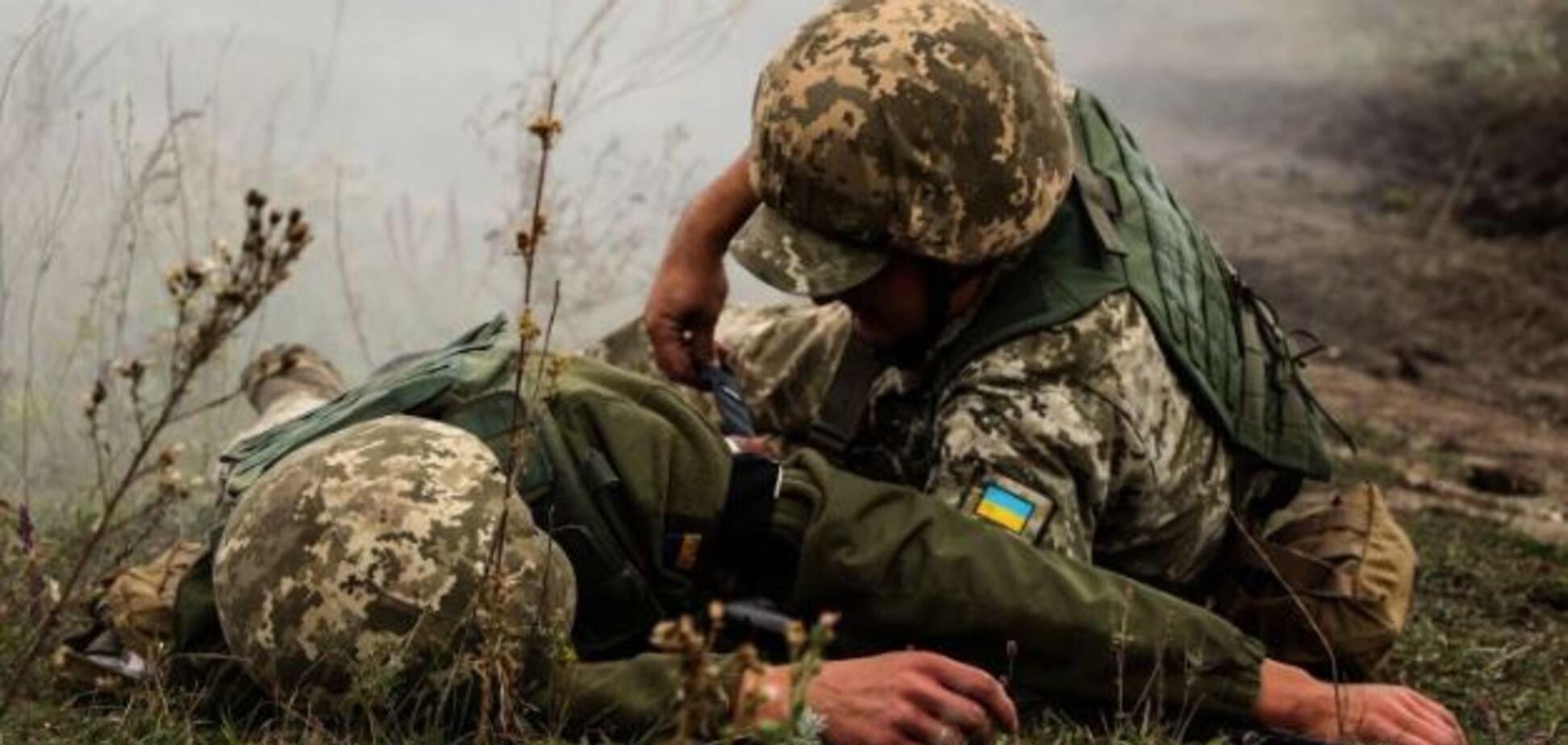 Российские войска ночью напали на ВСУ на Донбассе