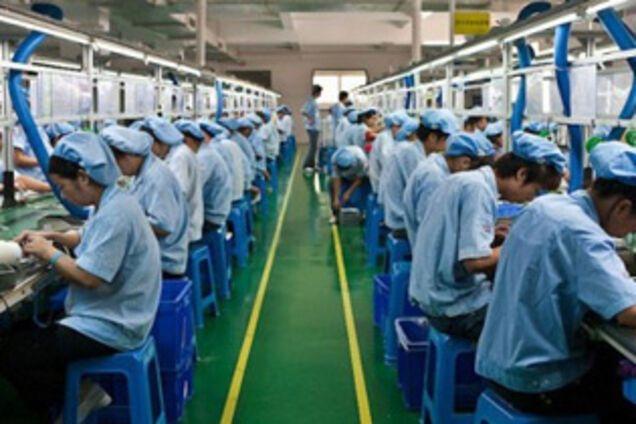 Китайское производство переживает кризис