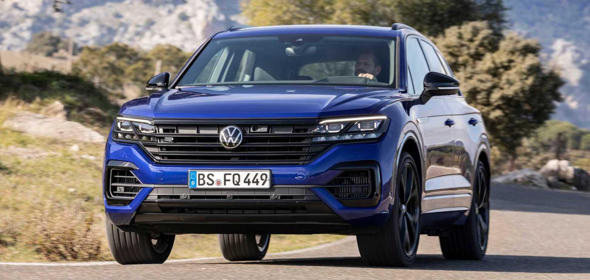 140 км/ч без капли бензина: Volkswagen показал новый Touareg