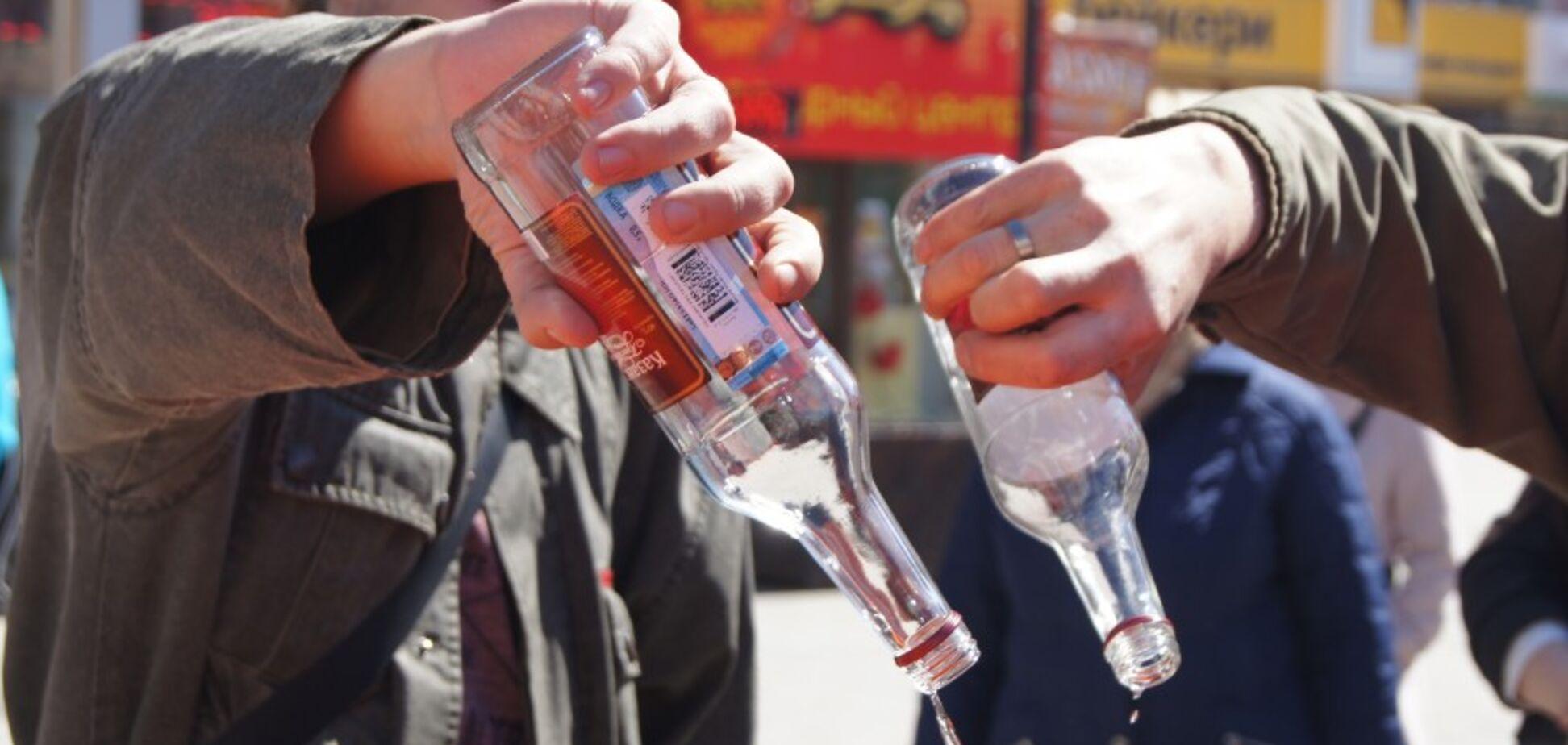 'Ви хоч закусуйте!' Українців насмішив анонс Малюськи про утилізацію 14 тонн алкоголю