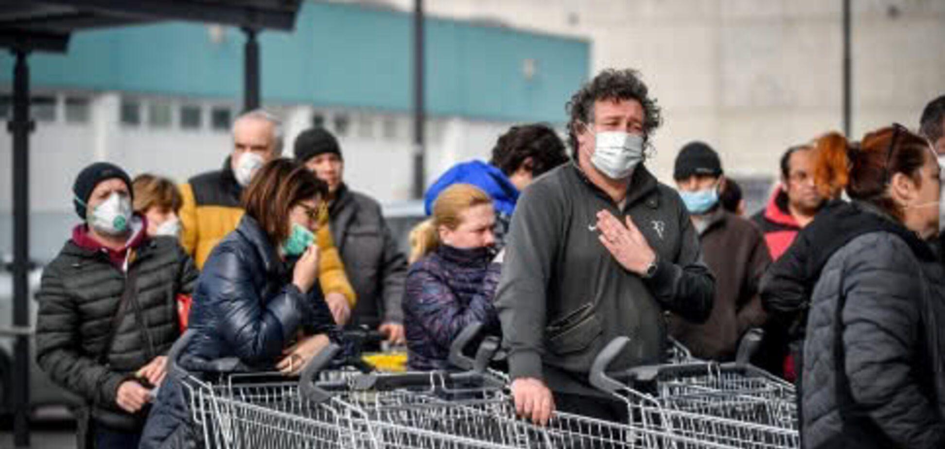Коронавірус в Італії небезпечно розширив географію