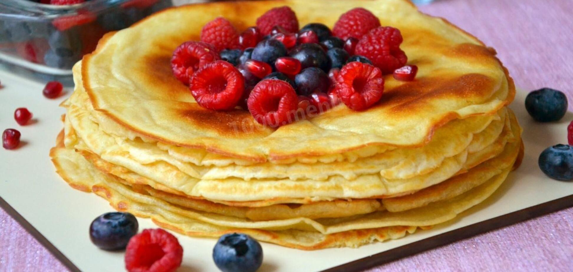 Їжте, скільки влізе: рецепти смачних дієтичних млинців, які не нашкодять фігурі