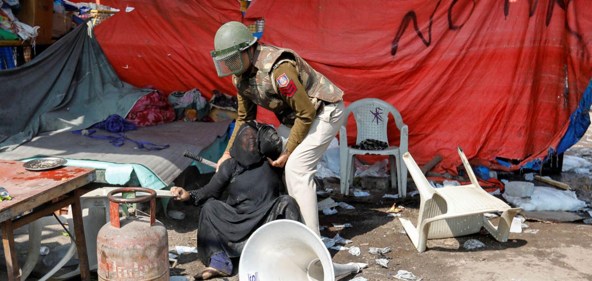 Протести в Нью-Делі