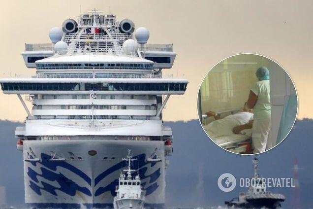 Українці, які заразилися коронавірусом на Diamond Princess, досі перебувають у лікарнях Японії