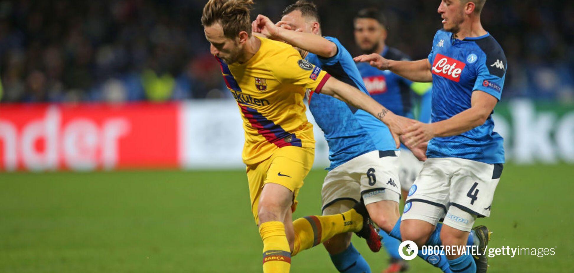 'Наполи' - 'Барселона': обзор матча Лиги чемпионов