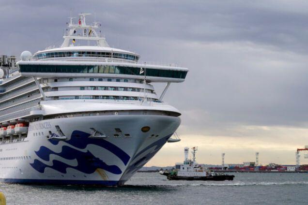 Українці відмовилися від евакуації з лайнера Diamond Princess