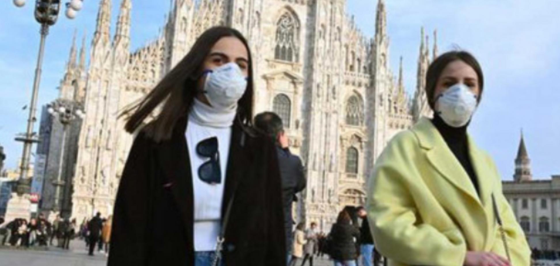 Спалах коронавірусу в Італії: названо офіційну причину