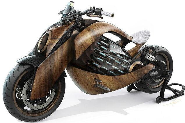 Електричний мотоцикл Newron EV-1