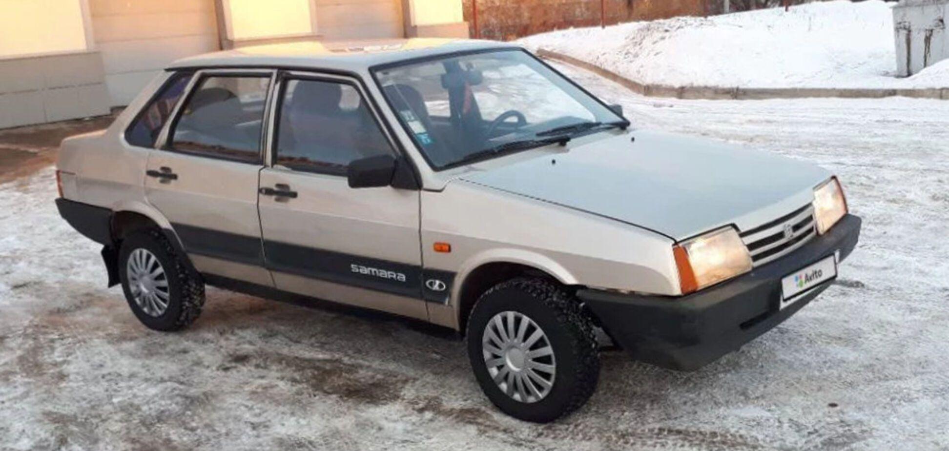 Уникальный внедорожник ВАЗ-21099 оценили в $800