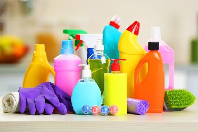Побутова хімія небезпечна для дітей