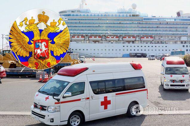 Троє росіян із Diamond Princess заразилися коронавірусом