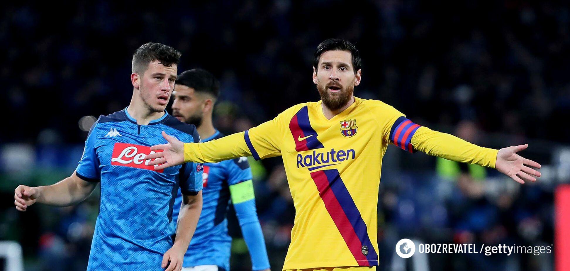 Незвичайне видалення! Наполі – Барселона: всі подробиці та результат матчу плей-офф Ліги чемпіонів