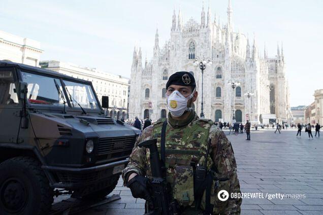 У Мілані оголошений високий рівень загрози через коронавірус