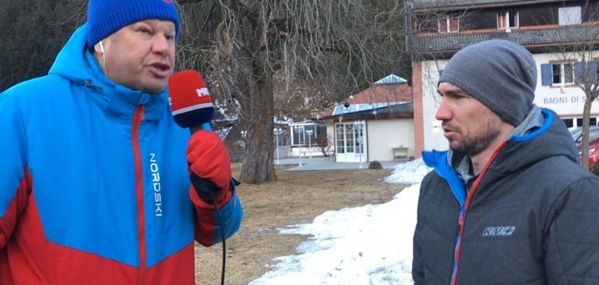 'Можуть йти в д*пу': Губернієв образив іноземних біатлоністів