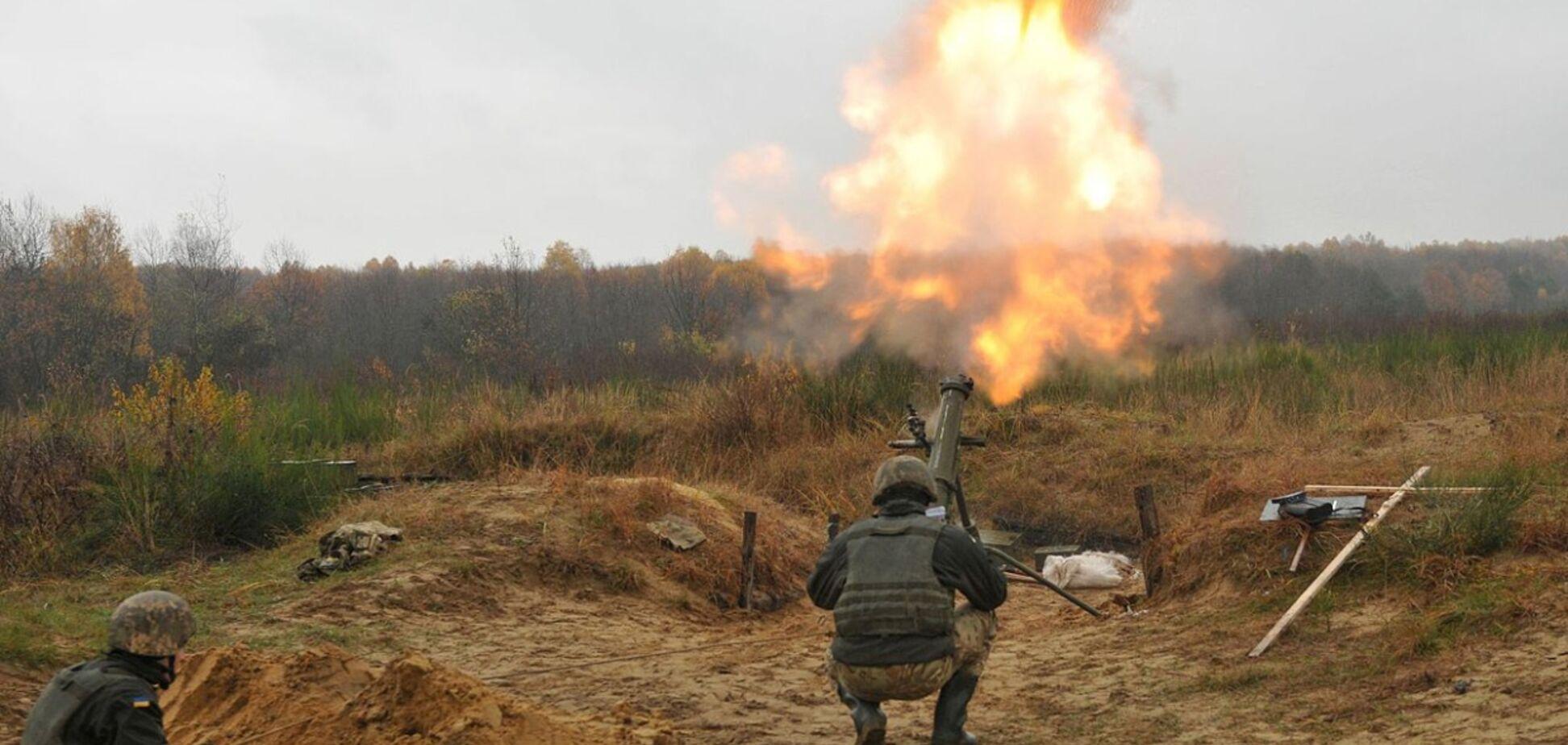 ВСУ попали под страшный обстрел на Донбассе