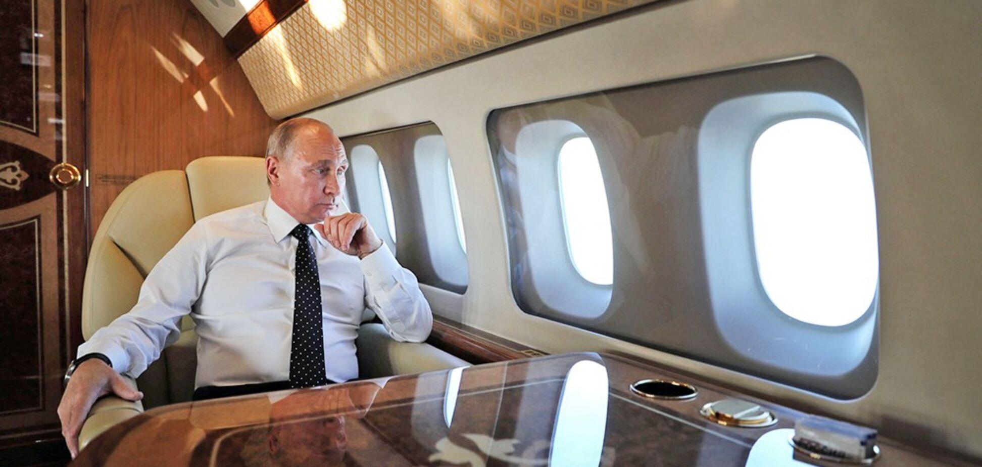 Путин возит с собой за границу даже биосортир – Швец