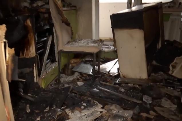 В Измаиле из-за скачка напряжения взорвалась квартира