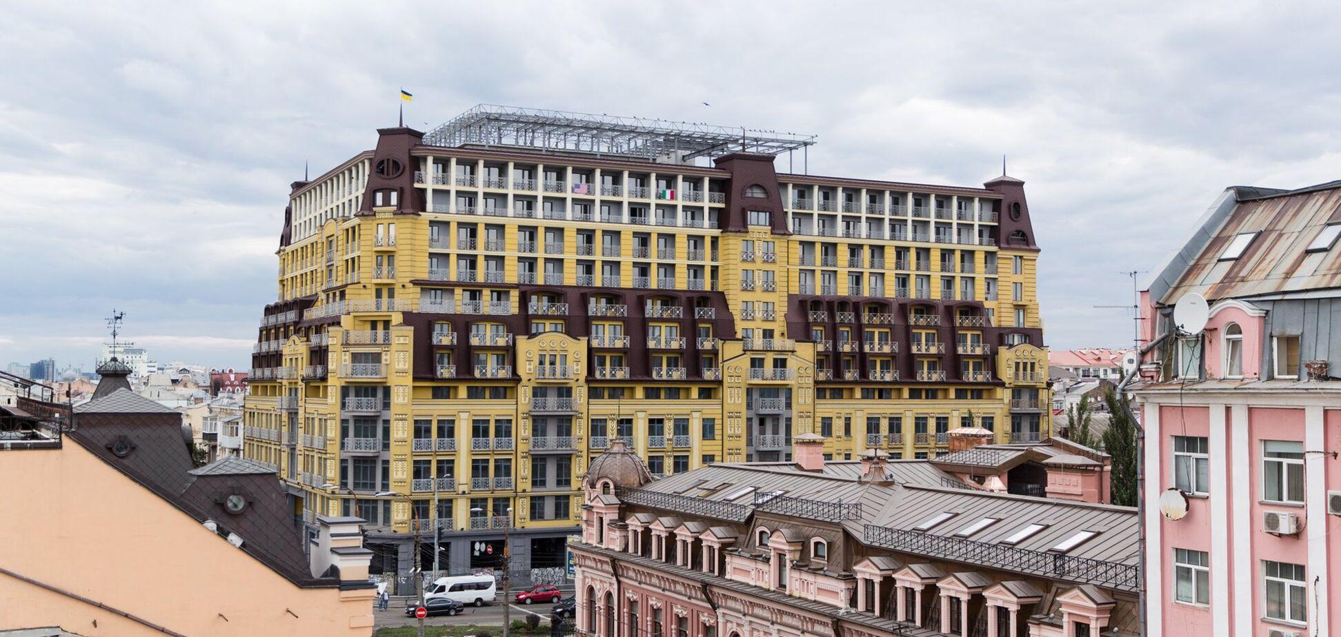 Суд скасував заборону на введення в експлуатацію скандального'будинку-монстра' у Києві