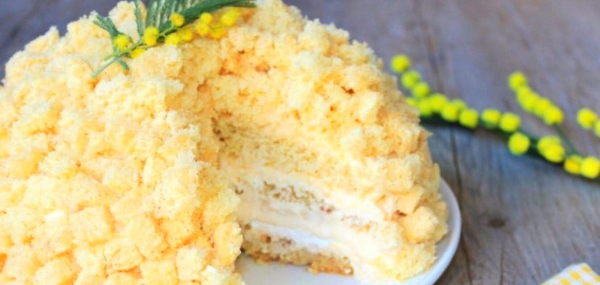 Мімоза: простий рецепт ніжного торта з надзвичайно смачним кремом
