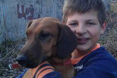 На Львовщине школьник героически спас собаку, застрявшую в теплотрассе