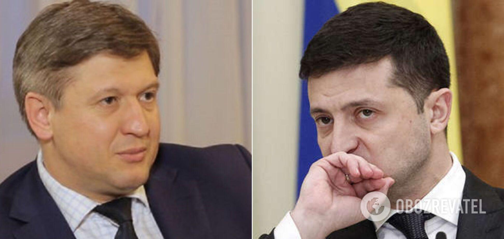 Данилюк заявив, що Зеленський обрав не той шлях після перемоги на виборах