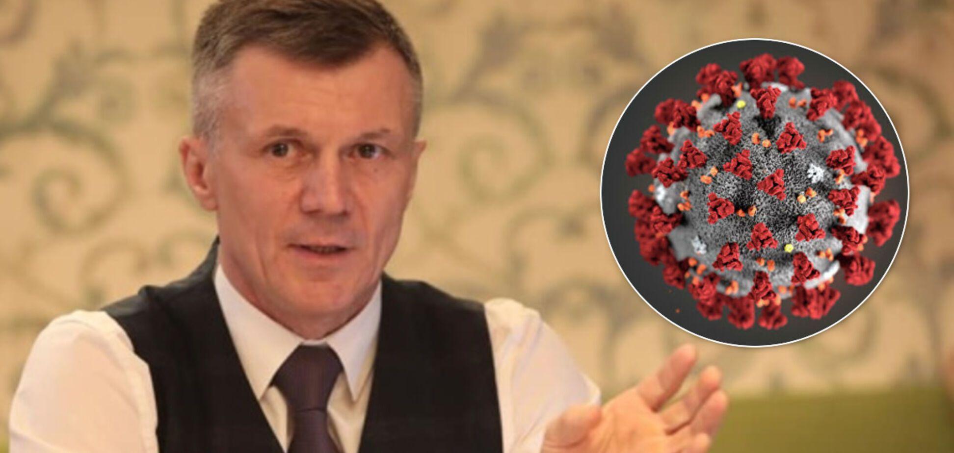 Минспорта Украины выступило с заявлением из-за коронавируса