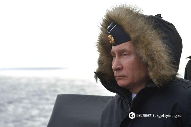 Путін в окупованому Криму