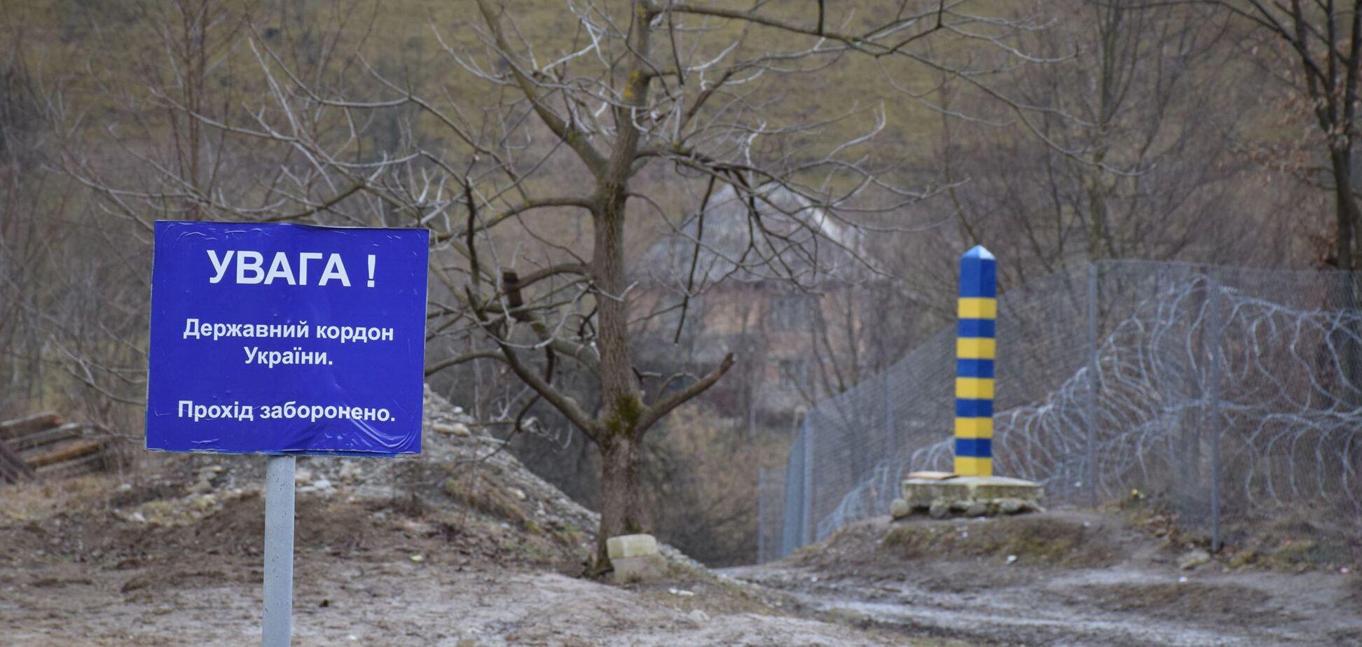 Пьяные контрабандисты на внедорожнике пытались 'прорваться' на границе с Венгрией. Видео