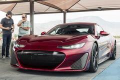 В США показали электрический суперкар с четырьмя двигателями