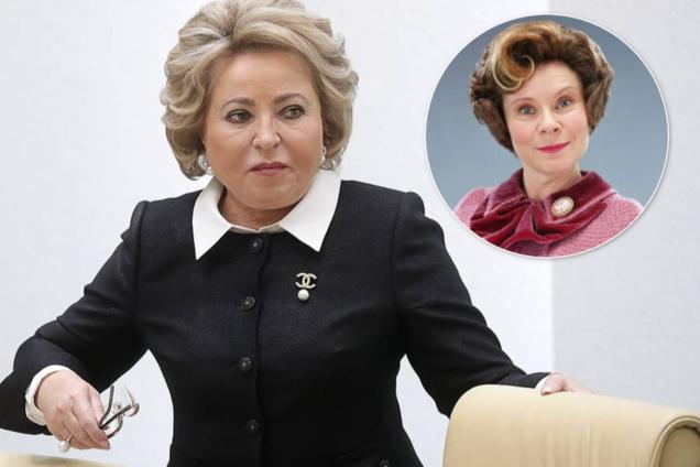 """Матвієнко одяглася в стилі персонажа """"Гаррі Поттера"""" і насмішила росіян"""