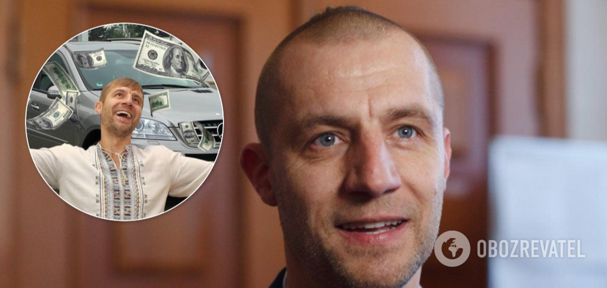 Михайло Гаврилюк працює таксистом у Києві