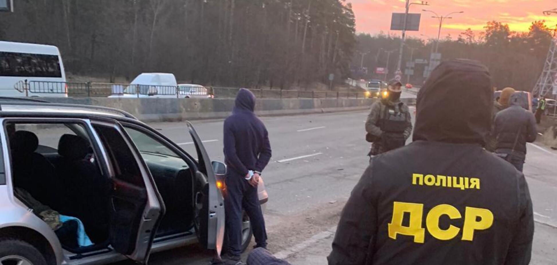 У Києві затримали угрупування 'чорних' лісорубів