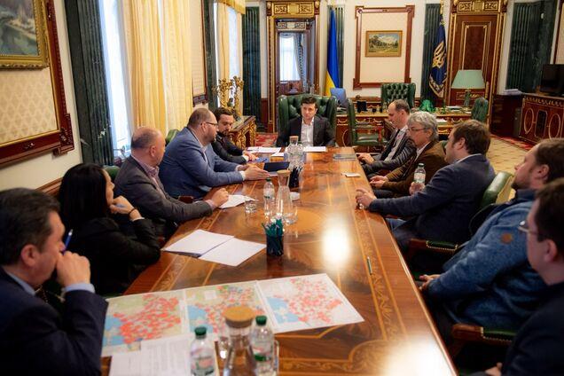 Встреча Зеленского с представителями медиагрупп